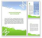 Holiday/Special Occasion: Modello Word - Estate farfalla #08577