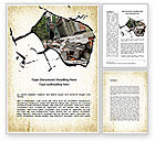 Nature & Environment: Building Destruction Word Template #08587