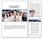 People: Team Spirit Word Template #08608