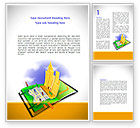 Construction: City Structure Word Template #08609