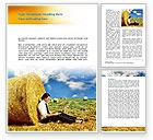 Business Concepts: Modèle Word de plein air #08635