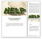 Nature & Environment: Ecological Crisis Word Template #08636