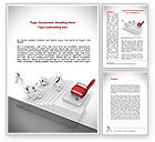 Careers/Industry: Promotion Word Template #08645