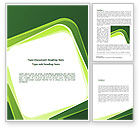 Abstract/Textures: Green Frame Word Template #08678