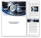 Utilities/Industrial: Integral Parts Word Template #08681