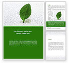 Nature & Environment: Hydroponics Word Template #08683