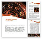 Business: Timetable Word Template #08695