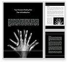 Religious/Spiritual: Human Relations Word Template #08708