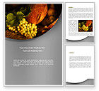 Agriculture and Animals: Food Basket Word Template #08710