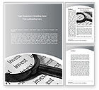 Financial/Accounting: Investments Search Word Template #08711