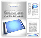Technology, Science & Computers: Blueprint Word Template #08733