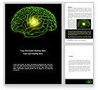 Medical: Human Brain Word Template #08734