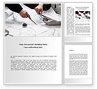 Business: Mechanical Engineering Word Template #08738