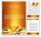 Food & Beverage: Jasmine Tea Word Template #08754