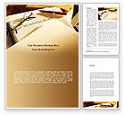 Business Concepts: Business Plan Analytic Word Template #08773