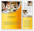 People: Friendly Meeting Word Template #08780