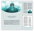 Abstract/Textures: Human Science Word Template #08788