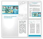Medical: Vascular Surgery Word Template #08802