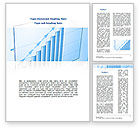 Business Concepts: Blue Diagram Word Template #08818