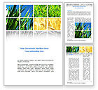 Agriculture and Animals: Wheats Word Template #08821