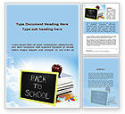 Education & Training: Back To School Activities and Crafts Word Template #08840