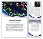 Financial/Accounting: Stock Market Rates Word Template #08846