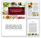 Food & Beverage: Chicken Salad Word Template #08889
