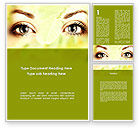 People: Natural Cosmetic Word Template #08890
