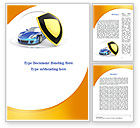 Careers/Industry: Car Insurance Word Template #08896