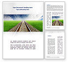 Business Concepts: Rails Word Template #08909