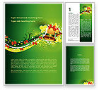 Holiday/Special Occasion: Celebration Bell Word Template #08914