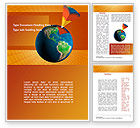 Education & Training: Geological Strata Word Template #08932