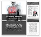 Medical: Modelo do Word - ataque cardíaco #08936