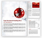 Holiday/Special Occasion: Christmassy Word Template #08968