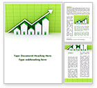 Financial/Accounting: Construction Business Rise Word Template #09001