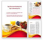 Food & Beverage: Pastry Shop Word Template #09005