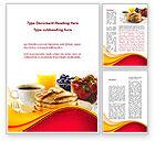 Food & Beverage: Modèle Word de pâtisserie #09005