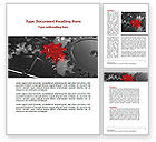 Utilities/Industrial: Pinion Transmission Word Template #09044