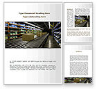 Careers/Industry: Automated Warehouse Word Template #09048