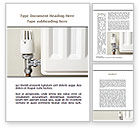 Construction: Heat-saving Technologies Word Template #09065