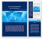 Global: Wereld Vasteland Word Template #09090