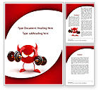 Sports: FreeBSD Daemon Word Template #09115
