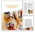 Food & Beverage: Discount Coupons Word Template #09120