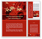 Medical: Blood and Virus Word Template #09126