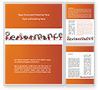 Consulting: Performance Word Template #09190