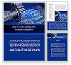Utilities/Industrial: Design of Machines Word Template #09240