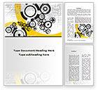 Abstract/Textures: Mechanisms Word Template #09243