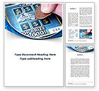 Careers/Industry: Scratch Card Word Template #09244