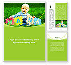People: Baby with Mama Puzzle Word Template #09253