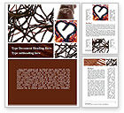 Food & Beverage: Chocolate Word Template #09268